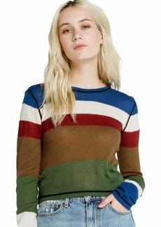 RVCA Junior's Kagan Long Sleeve Sweater  L/