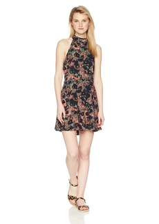 RVCA Junior's Kingsman High Neck Tank Dress  S