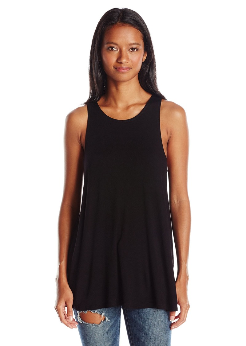 RVCA Juniors Label High Neck Graphic Tunic
