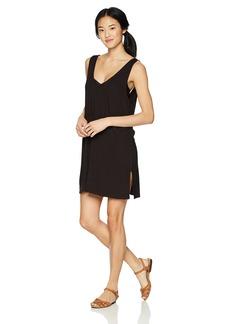 RVCA Junior's Leela Sleeveless Cover up Dress  L
