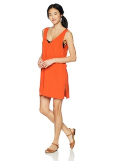 RVCA Junior's Leela Sleeveless Cover up Dress  M