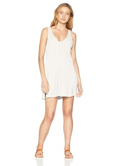 RVCA Junior's Leela Sleeveless Coverup Dress  M