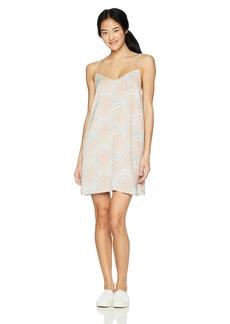 RVCA Junior's Marigold V-Neck Dress  M