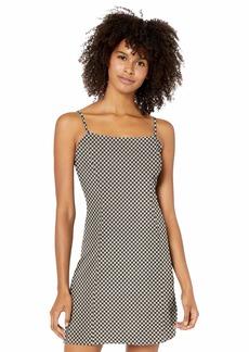 RVCA Junior's Mosaic Skinny Strap Dress  L
