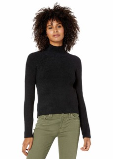 RVCA Junior's Oracle HIGH Neck Sweater  M