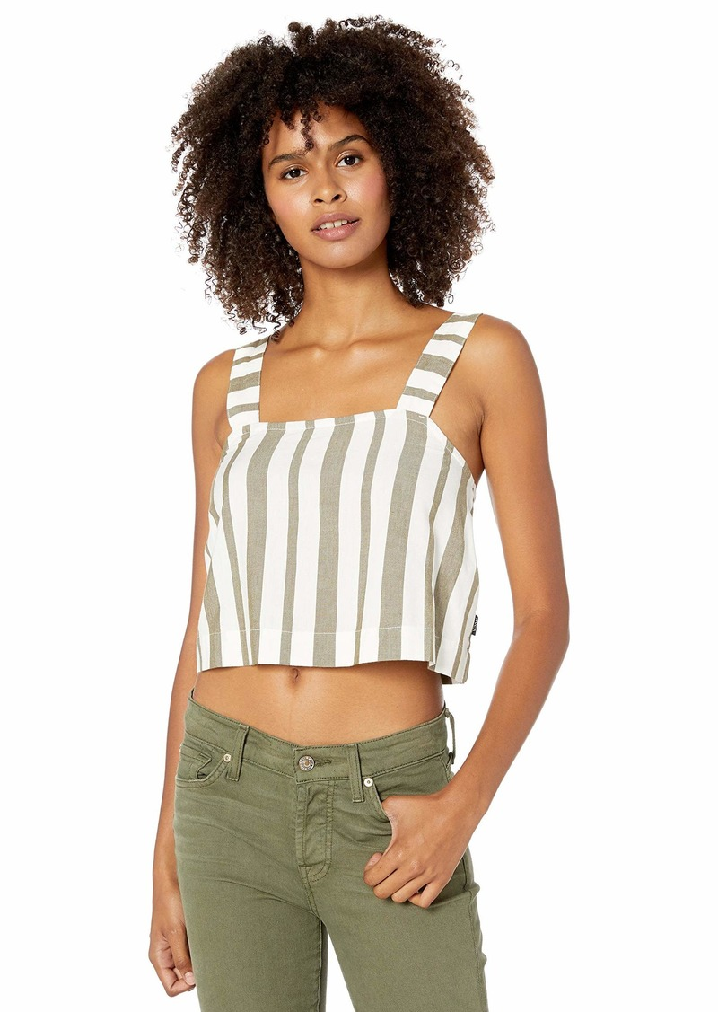 RVCA Junior's Orville Stripe Side Strap Tank TOP  M