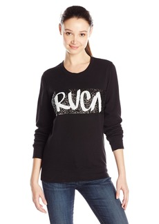 RVCA Junior's Out There Graphic Pullover Fleece