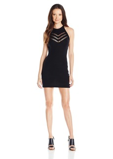 RVCA Juniors Remly High Neck Fitted Dress