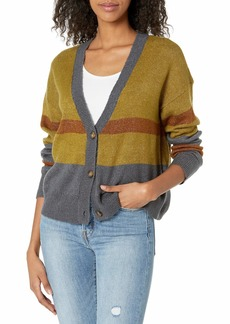 RVCA Junior's Romy Cardigan Sweater  S/