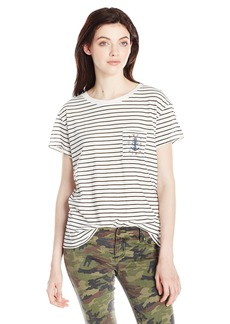 RVCA Junior's Sea Pocket T-Shirt  S
