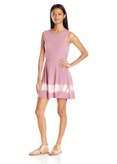 RVCA Juniors Shandon Jersey Fit and Flare Dress