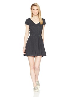 RVCA Junior's Shifter Cap Sleeve Dress  L