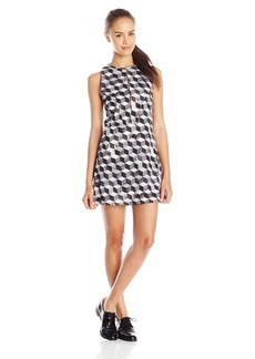 RVCA Junior's Steady Printed Dress