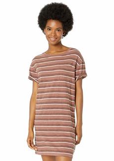 RVCA Junior's Strikeout T-Shirt Dress  S
