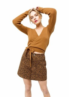 RVCA Junior's The FUZ WRAP Sweater  S
