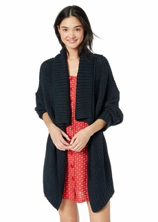 RVCA Women's This Is It Oversized Knit Cardigan