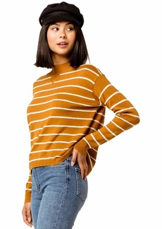 RVCA Junior's Tristan Light Weight Sweater  L