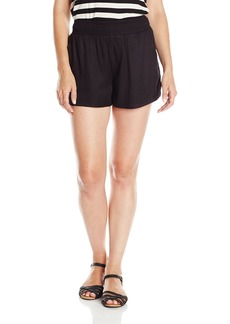 RVCA Junior's Walked Out Mid Rise Beach Short