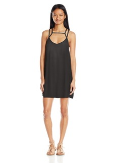 RVCA Junior's Zavey Tank Dress black S