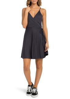 RVCA Kelso Wrap Dress