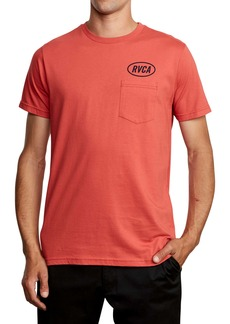 RVCA Labour Logo Pocket T-Shirt