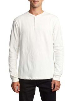 RVCA Lavish Slub Long Sleeve Henley