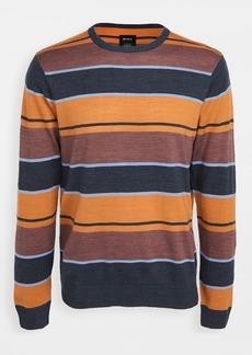 RVCA Long Sleeve Alex Stripe Crew Neck Sweater