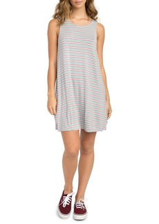 RVCA Lostlane Stripe Swing Dress
