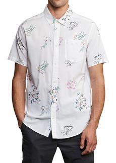 RVCA Lotties Flowers Print Woven Shirt