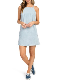 RVCA Maple Denim Apron Dress