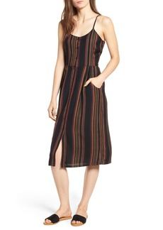 RVCA Medway Stripe Midi Dress