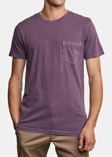 Rvca Men's 2-Pigment Pocket T-Shirt