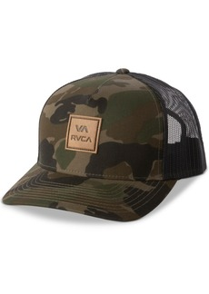 Rvca Men's All The Way Logo Graphic Hat