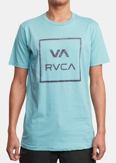 Rvca Men's Atw Push Logo Graphic T-Shirt
