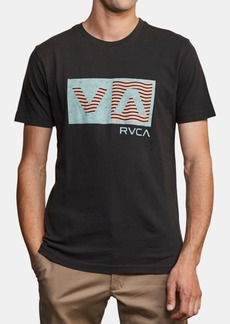 Rvca Men's Balance Logo Graphic T-Shirt