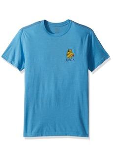 RVCA Men's Big Bite Short Sleeve T-Shirt  XS