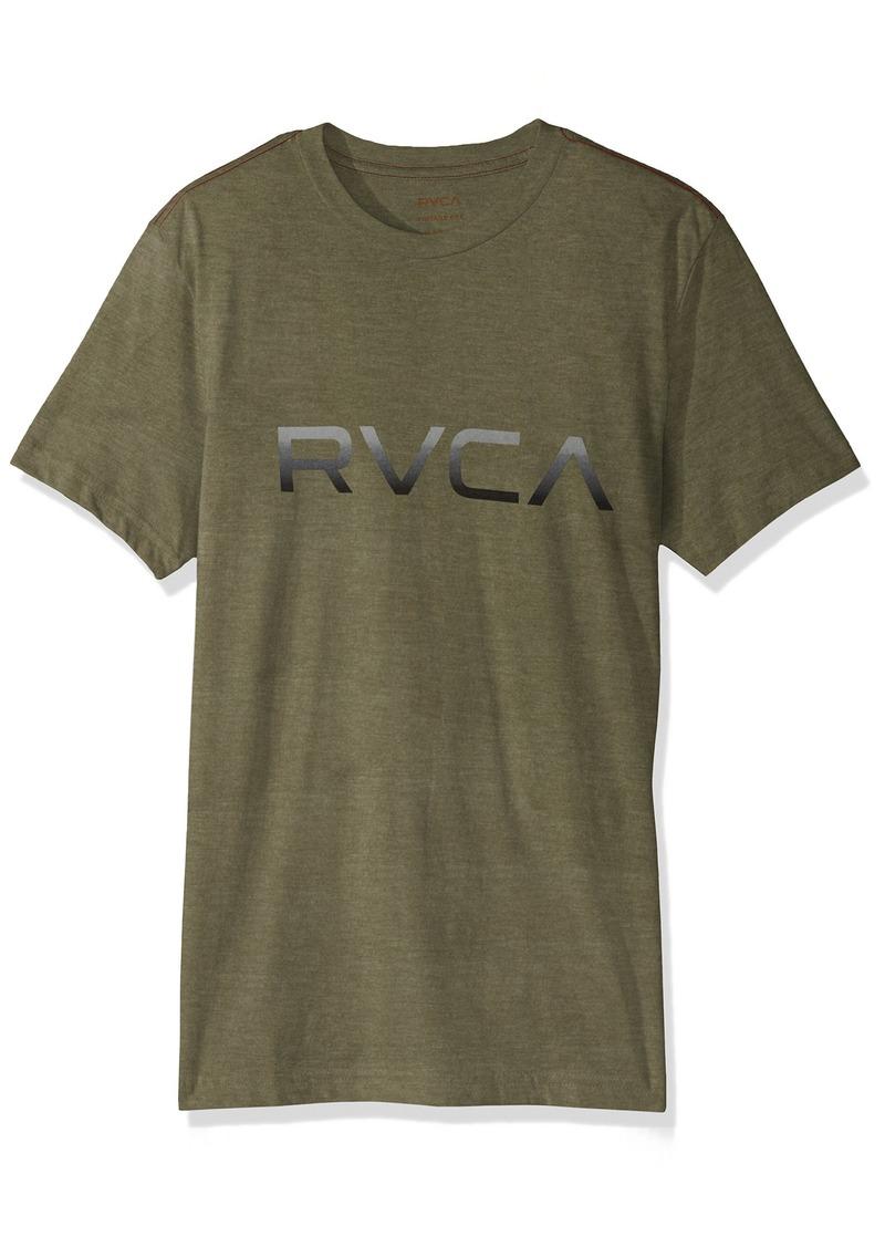 RVCA Men's Big Gradient Short Sleeve T-Shirt