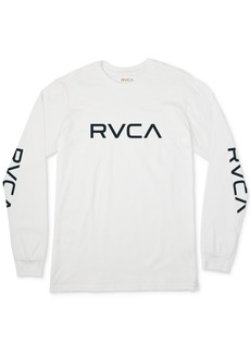 Rvca Men's Big Logo Graphic T-Shirt