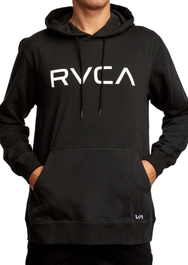 Rvca Men's Big Logo Hoodie
