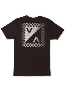 Rvca Men's Check Mate Graphic T-Shirt