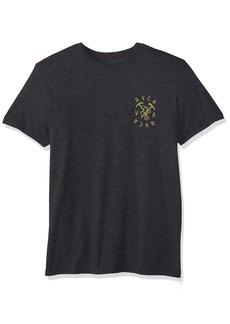 RVCA Men's Climbing Pick Short Sleeve T-Shirt
