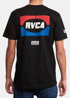 Rvca Men's Daytona Graphic T-Shirt