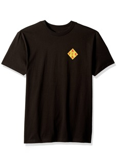 RVCA Men's DMOTE Patch Short Sleeve T-Shirt  M