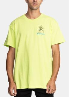 Rvca Men's Dmote Psychic Logo Graphic T-Shirt