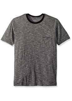 RVCA Men's Double DIP Sleeve Crew Neck T-Shirt  XL