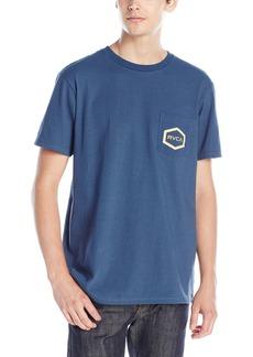 RVCA Men's Double Hex Pocket T-Shirt