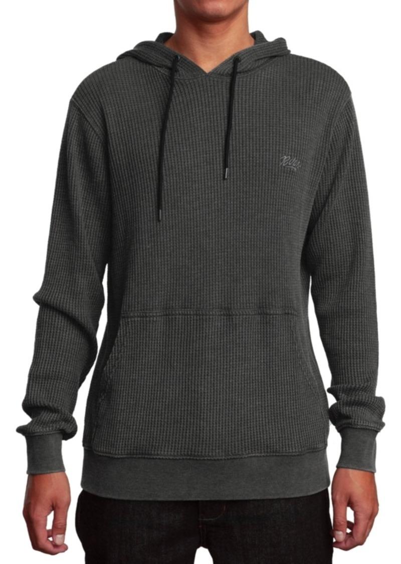 Rvca Men's Elroy Textured Hoodie