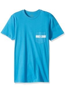 RVCA Men's Hat Patch Short Sleeve Pocket T-Shirt