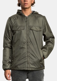 Rvca Men's Hooded Tracer Jacket