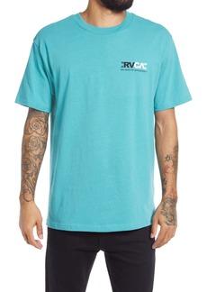 RVCA Men's Industry Flip Logo Graphic Tee